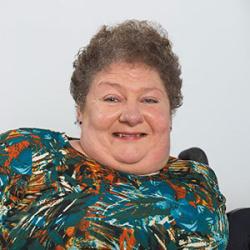 A portrait of Sara Georgeson